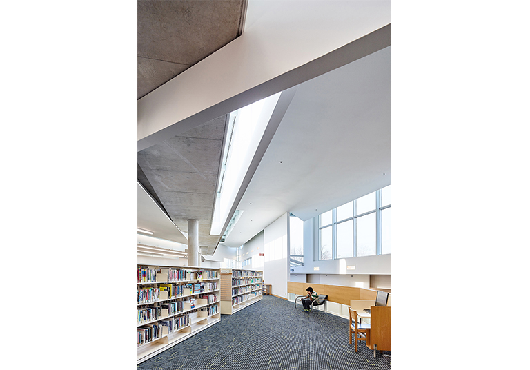 Ajax Public Library Renovation And Lighting Retrofit