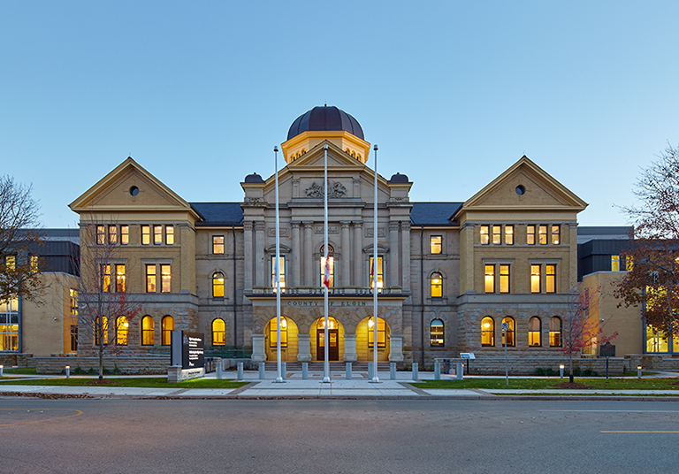 St. Thomas Consolidated Courthouse / Elgin County Courthouse