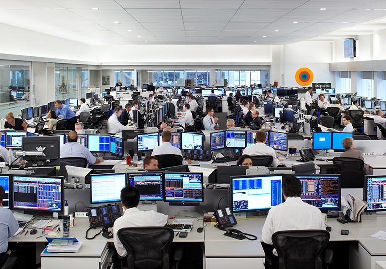 National Bank Trading Floor - THE HIDI