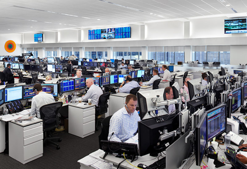 National Bank Trading Floor