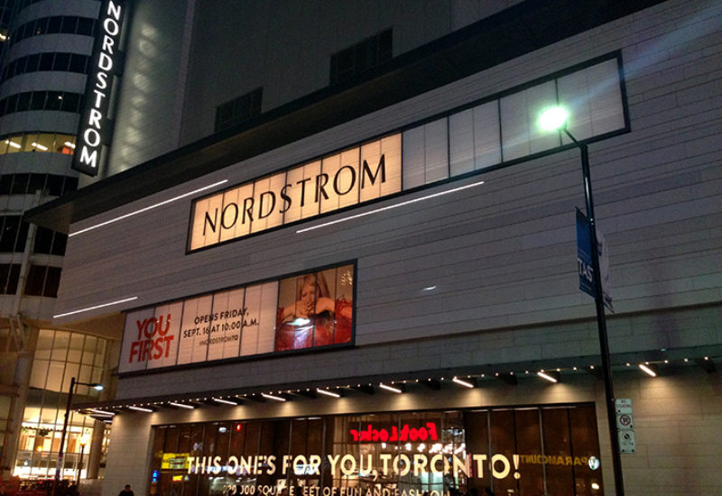 Toronto Eaton Centre - Sears Redevelopment and Nordstrom Facade