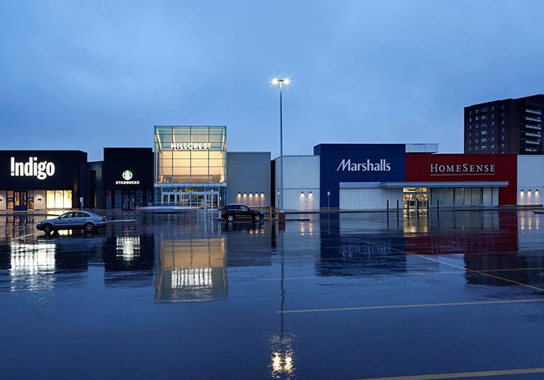 Hillcrest Mall - Target Backfill